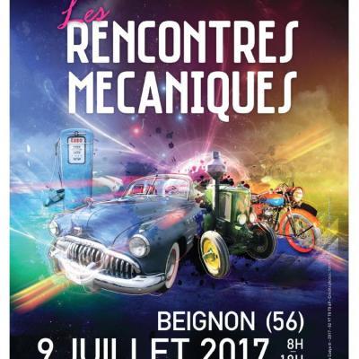 Les Rencontres Mécaniques de Beignon - Juillet 2017