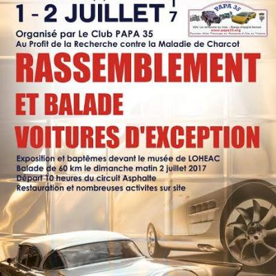 Expo / Baptême SLA Charcot Lohéac - Juillet 2017