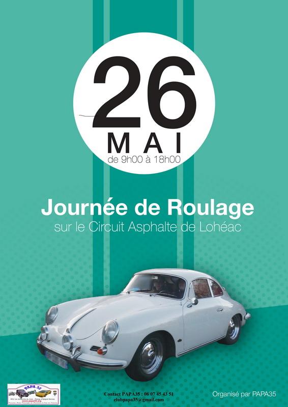 Affiche Roulage Lohéac 2017