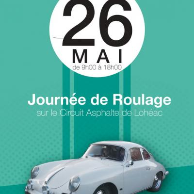 1ère Journée Roulage Circuit de Lohéac -26 Mai 2017