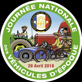 Journée Nationale du véhicule d'Epoque - Avril 2018
