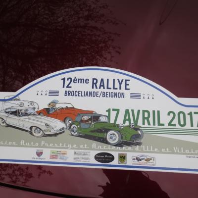 Rallye PAPA35 - Avril 2017