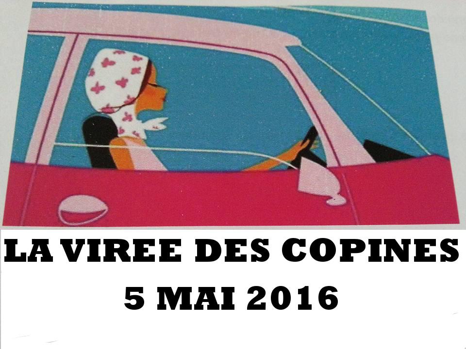 Virée des Copines - Affiche 2016