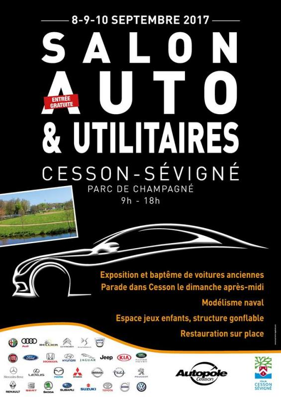 Salon Cesson Affiche