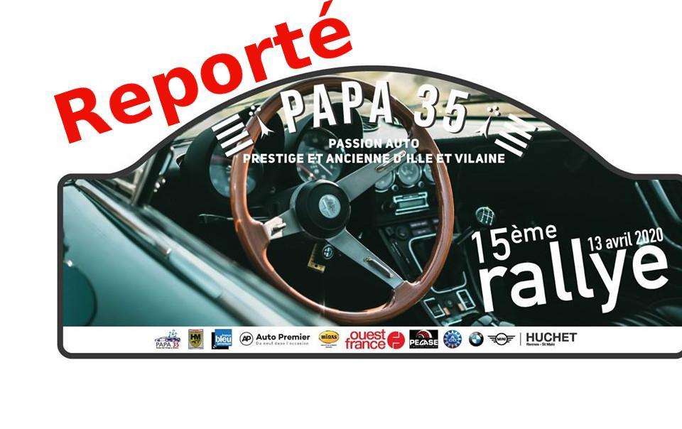 Report rallye